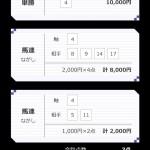 桜花賞、田崎TMの買い目