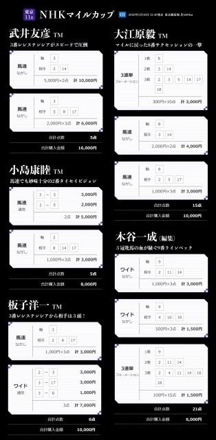 NHKマイルCのTMプレミアム馬券