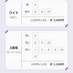 ラジオNIKKEI賞、木谷(編集)の買い目
